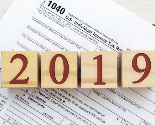 New Tax Laws in 2019
